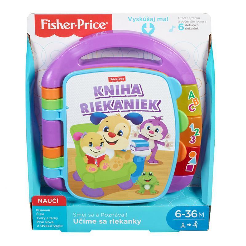Mattel Fisher Price Učíme sa riekanky FRC72  - SK