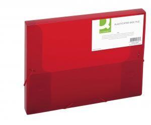 fbc9164ec9f24 Q-CONNECT Plastový box s gumičkou Q-Connect červený   WHAAT.SK