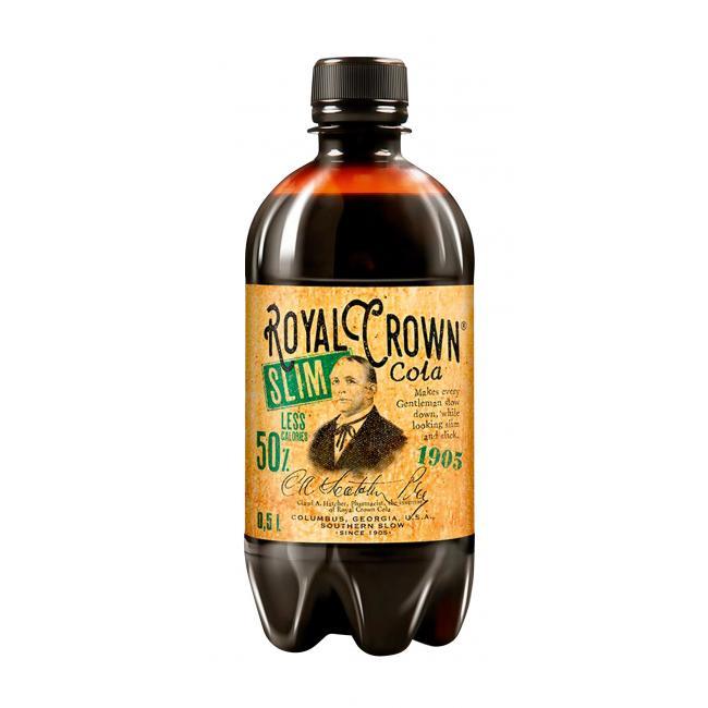 Royal crown Royal Crown Cola 0,5l PET Slim